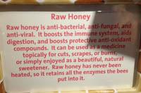 Honey raw photo200