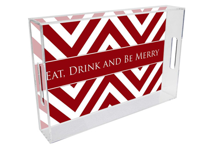 T8039_Chevron_Grande_Red_Lucite_Tray