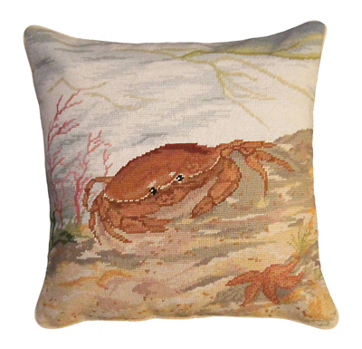 NCU817-Crab-and-Sea-Star-18x18400